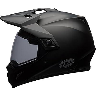 Bell MX-9 Adventure MIPS Full-Face Motorcycle Helmet (Solid Matte Black, Medium): Automotive