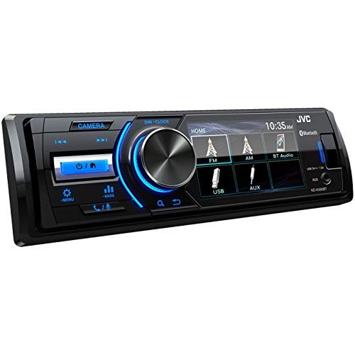 JVC - KD-X560BT - Digital Media Marine Bluetooth Receiver iPhone/Android/USB/AUX