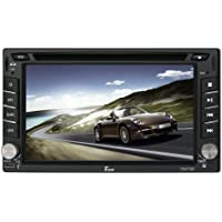 Tview D62TSB 6.2-Inch Double Din Touch Screen with Built-In Bluetooth, USB and SD