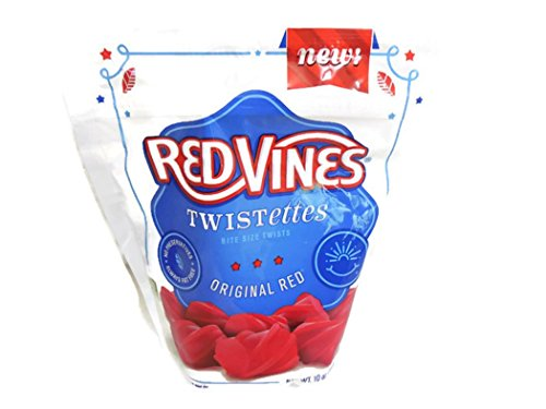 Red Vines Twistettes Bite Size Twists Original Red (2 Pack)
