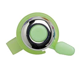 Mirrycle Incredibell Brass Duet Bicycle Bell (Green)