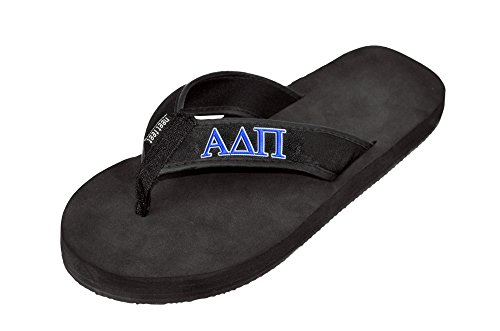 Flip Flop Nero Express Design Group Alpha Delta Pi
