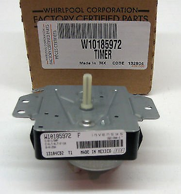 (W10185972 Whirlpool Kenmore Dryer Timer Control Ps2348527 Ap4373259)