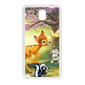 Happy Spring scenery deers and lovely small animal Cell Phone Case for Samsung Galaxy Note3