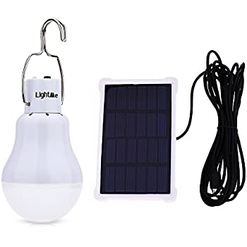 Light Control Sensor Solar Bulb Lights for Indoor Outdoor