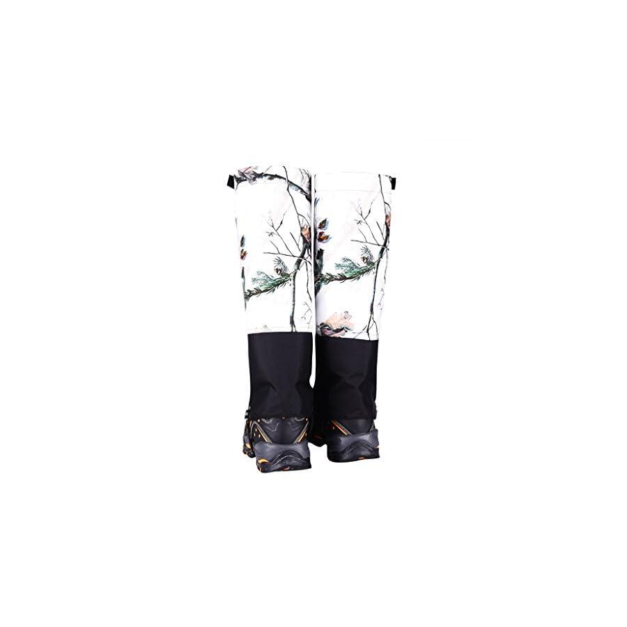 Dovewill Ski Snow Hiking Walking Snow Legging Gaiters Shoe Gaiters Waterproof Nylon