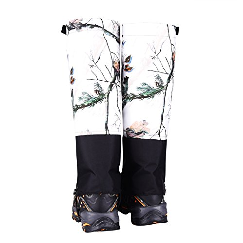 Dovewill Ski Snow Hiking Walking Snow Legging Gaiters Shoe Gaiters Waterproof Nylon
