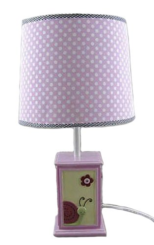 Amazon girls pink lamp with pink polka dot lamp shade 18 girls pink lamp with pink polka dot lamp shade 18quot aloadofball