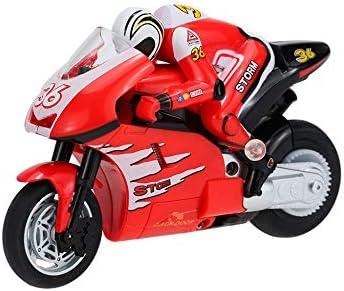 RC TECNIC Moto Teledirigida Niños 1:20 con Giroscopio | Moto Radiocontrol con Batería y Mando Control Remoto | Juguete para Niños