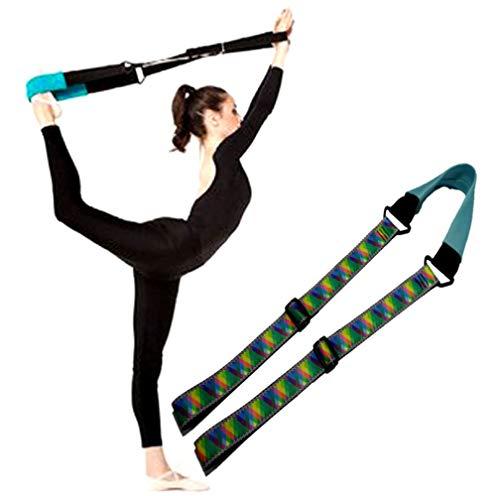 ynxing para estiramientos de piernas, Ballet danza gimnasia entrenamiento de banda elástica cinturón para ballet y gimnasia...