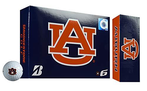 Bridgestone e6 Soft NCAA Licensed Golf Balls (Auburn Tigers)