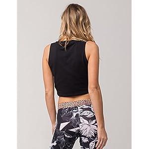 adidas Originals Women's Crop Tank Top, Black, M