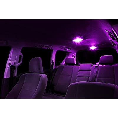 XtremeVision Interior LED for Scion FR-S FRS 2013-2015 (10 Pieces) Pink Interior LED Kit + Installation Tool: Automotive