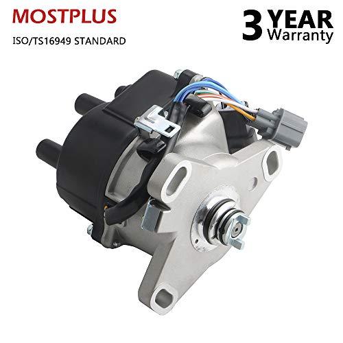 (MOSTPLUS New Ignition Distributor for 92-95 Honda Acura Integra B16A OBD1 B16A2 V-TEC TD44U)