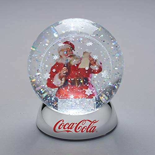 Department 56 Classic Brands Santa with Coke Waterdazzler Waterball 4.5