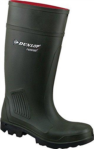 PU di stivali Purofort Professional S5CI GR. 46Verde Scuro Dunlop 100% impermeabile