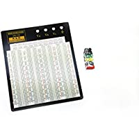 Solderless Breadboard RSR Model MB108 10.2 x 9.4 3220 tie points, 4 binding posts