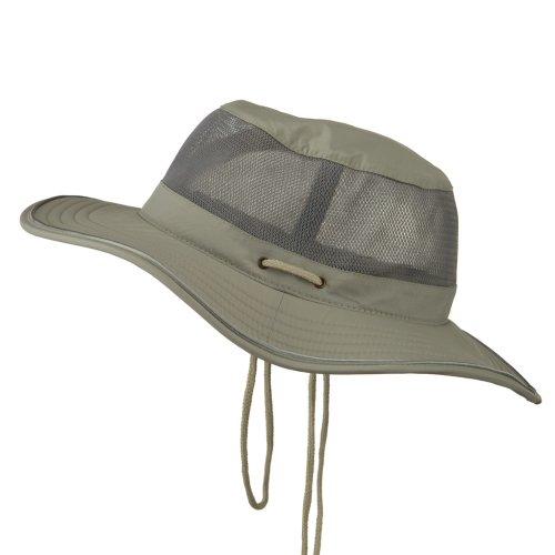 118510c8daa Big Size Talson UV Mesh Bucket Hat - Grey 2XL-3XL