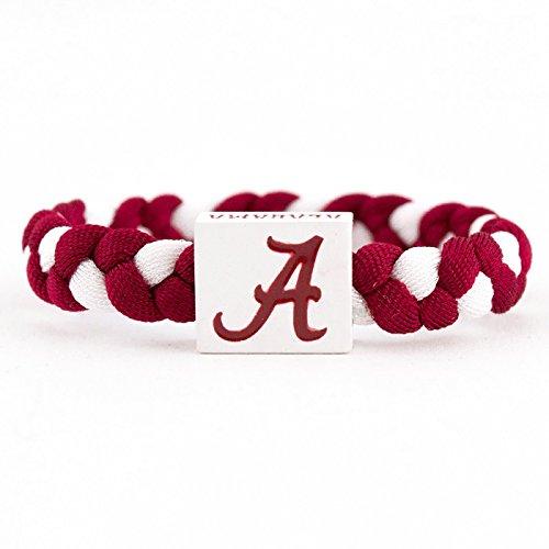 NCAA Game Day Nylon Woven Bracelet - Alabama Crimson Tide - Alabama Crimson Tide Tie