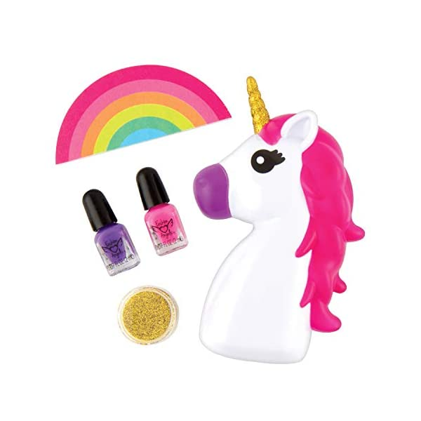 Fashion Angels Unicorn Magic Nail Dryer Set (12128) Nail Gift Set for Girls Ages 8 and Up,Brown/A 4