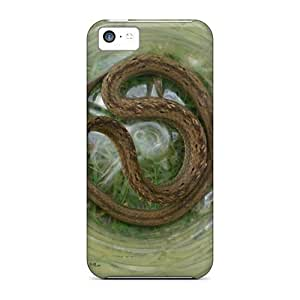 Brown Snake With Iphone 5/5s PC mobile Pretty Iphone Cases Covers cover miao's Customization case