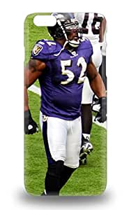 Iphone 6 Plus Well Designed Hard 3D PC Soft Case Cover NFL Baltimore Ravens Ray Lewis #52 Protector ( Custom Picture iPhone 6, iPhone 6 PLUS, iPhone 5, iPhone 5S, iPhone 5C, iPhone 4, iPhone 4S,Galaxy S6,Galaxy S5,Galaxy S4,Galaxy S3,Note 3,iPad Mini-Mini 2,iPad Air )