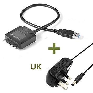 Adaptador de Disco Duro USB 3.0 a SATA, para Discos Duros SATA HDD ...