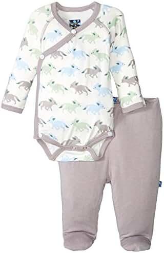 Kicky Pants Viscose from Bamboo Newborn Gift Set