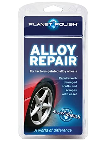 490b76f28a Alloy Wheel Repair Kit by Planet Polish - Repair Kerb Scuffs and Scrapes   Amazon.co.uk  Car   Motorbike