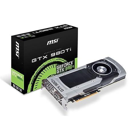 MSI GTX 980TI 6GD5 NVIDIA GeForce GTX 980 Ti 6GB - Tarjeta gráfica ...