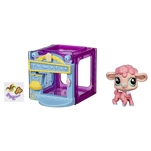 Littlest Pet Shop Mini Style Set with Lamb Figure ()