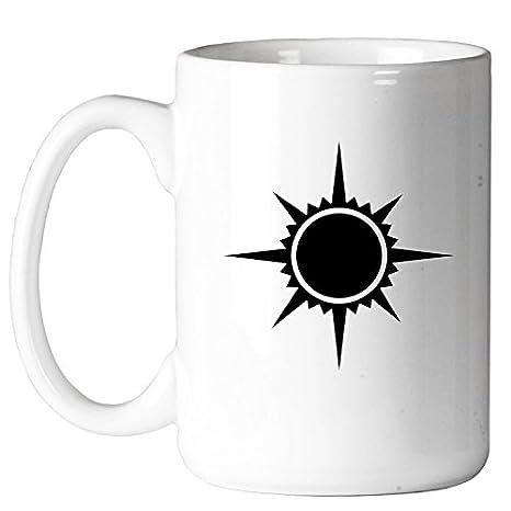 Amazon.com: Símbolo de sol mágico de 325 ml. Taza de café ...