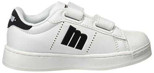MTNG agon, Kinder Unisex Sneakers, Weiß (Action PU Weiß, Schwarz), 30 EU