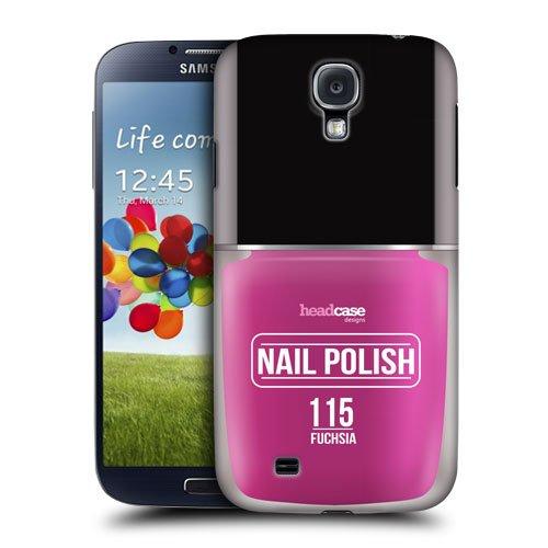 Head Case Designs Fuchsia Nail Polish Protective Snap-on Hard Back Case Cover for Samsung Galaxy S4 I9500