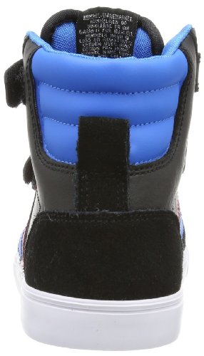 hummel STADIL JR LEATHER HIGH UnisexKinder Hohe Sneakers Schwarz  Black Blue Red Gum - liv-stuck-sachsen.de fcba77643b