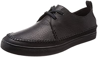 Clarks KESSELL Craft Men's Casual Shoe, Black Leather G, 6 AU