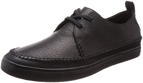 Scarpe Clarks Stringate Black Craft Uomo Nero Derby Kessell Leather wRERqn1g
