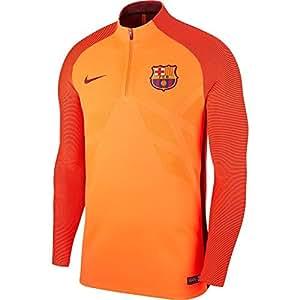 Nike - Camiseta de Hombre FC Barcelona 2017-2018 aeroswift Strike Drill: Amazon.es: Deportes y aire libre