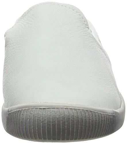 Softinos Damen Imo447sof Ballerine Bianco (bianco)