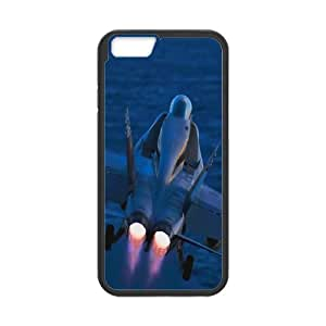 Iphone 6 Plus Case, air force 2 Case for Iphone 6 Plus 5.5 screen Black tcj569510 tomchasejerry