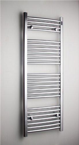 Radiador secatoallas / HK26, 800x500, 392W, 800x500, curvo cromo, NUEVO