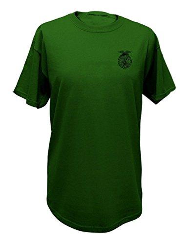 J. America John Deere Tee FFA Short Sleeve Mens Green T-Shirt-medium