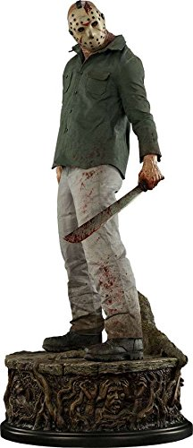 [Sideshow Friday the 13th Part III Jason Voorhees – Legend of Crystal Lake Premium Format Figure Statue] (Jason Voorhees Statue)