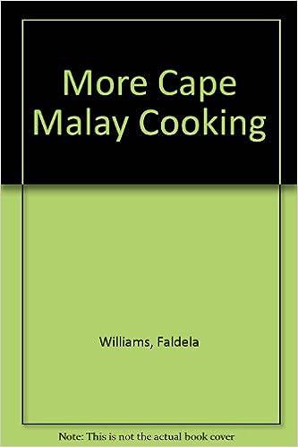 Malay recipe book cape