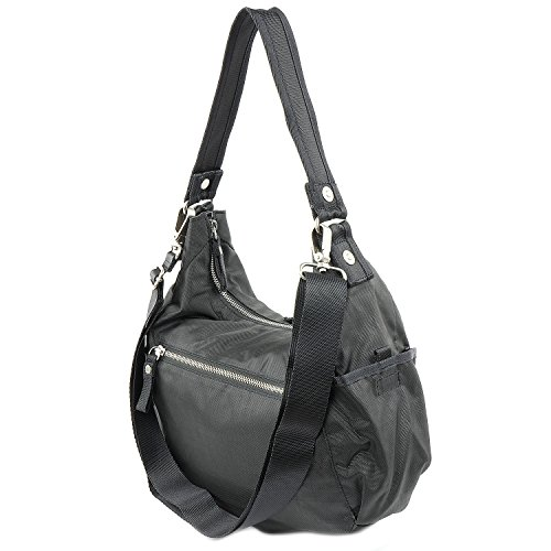 George Gina & Lucy Basic Nylon Swingeling Sac gris foncé