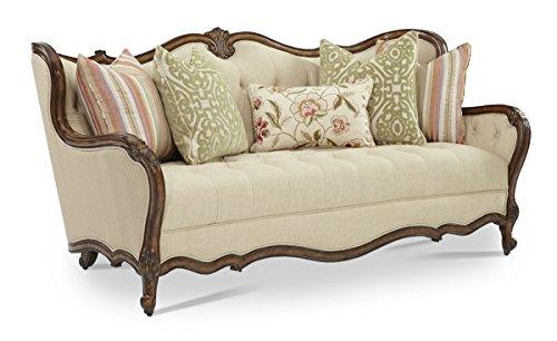 Bisque Living Room Set - Lavelle Melange Aico Amini Sofa Living Room Furniture (Sofa & Settee in Bisque)
