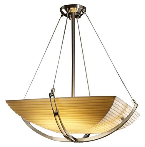 Justice Design Group Lighting PNA-9721-25-SAWT-NCKL-LED3-3000 Porcelina-Crossbar 22