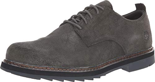 - Timberland Men's Squall Canyon Plain Toe Waterproof Oxford Dark Green Suede 10.5 D US D (M)