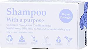 Shampoo with A Purpose Shampoo & Conditioner Bar for Dry or Damaged Hair, 135 Grams