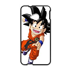 HTC One M7 Cell Phone Case Covers Black Goku Y1047092